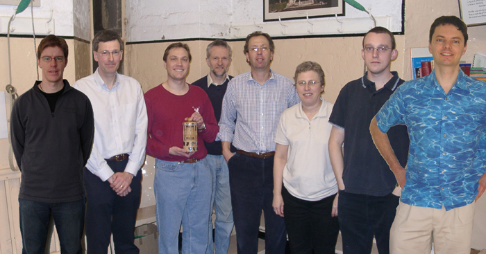 The winning Penn Trophy Team 2006. Point at the people to see their names.